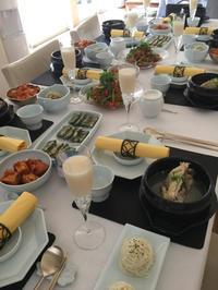 4月のリクエストレッスン参鶏湯 - 美味しい韓国 美味しいタイ@玄千枝クッキングサロン