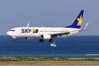 那覇空港 RWY18へのアプローチ(国内線 小型機) - 南の島の飛行機日記