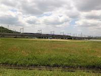 藤田八束の鉄道写真@姫路市市川の鉄橋を走るトワイライトエキスプレス「瑞風」と貨物列車、客車の素晴らしい景色 - 藤田八束の日記