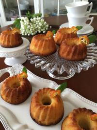 金柑のミニクグロフ - mamanのお菓子