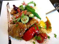 薩摩鶏&野菜のソテー~テリヤキソース~&リゾット 【茅ヶ崎Oggi(オッジ)】 - ぶらり湘南
