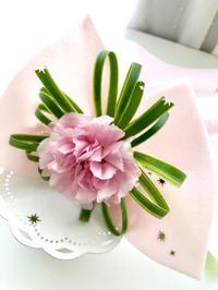 一輪をラッピング! - **おやつのお花*   きれい 可愛い いとおしいをデザインしましょう♪