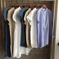 Sa-Rah/前立てギャザーシャツ&チュニック - UTOKU Backyard