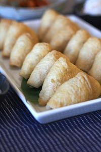お稲荷さんと大和芋の蒸し物 - KICHI,KITCHEN 2
