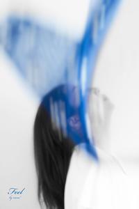 Blue Heart Butterfly - F e e l