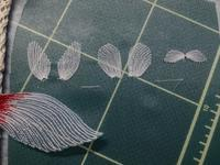 背びれ腹びれ刺繍 - ソライロ刺繍