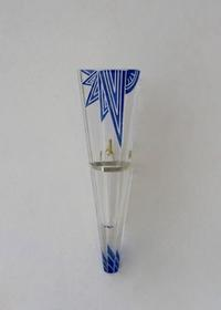 ART DECO BLUE &SILVER金具 掛け花入 No:12 - GALLERY GRACE ギャラリーグレース BLOG