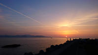 夜明けの風景を楽しみつつも。 - 青い海と空を追いかけて。