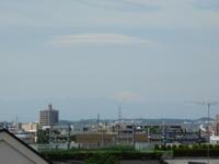 世田谷ぶらぶら日記(2018/05/06)-富士山の笠雲 - SEのための心理相談室