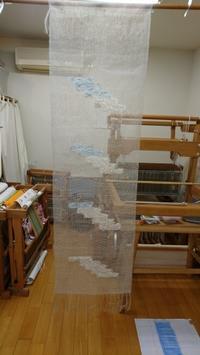 涼しげな作品2点 - 大分手織物語り