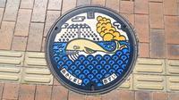 マンホールカード16枚目ゲット 東京都昭島市で、デザインはアキシマクジラ(H300429) - 蜃気楼の如く