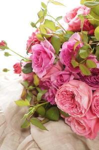 母の日に和ばらを… - お花に囲まれて