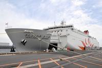 新「さんふらわあさつま」大阪南港撮影記その2 - 船が好きなんです.com