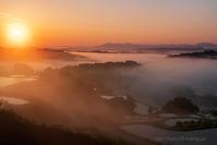 そして日が昇る - デジタルで見ていた風景