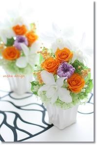 お仏前にお供えする花 - Flower letters
