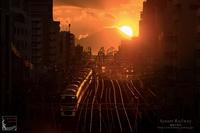 sunset railway - 箱庭の休日