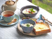 ワンプレートの朝ごはん - 陶器通販・益子焼 雑貨手作り陶器のサイトショップ 木のねのブログ
