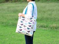 たっぷり収納で通勤やお買い物にぴったりチェリスさんのトートバッグ - ブルーベルの森-ブログ-英国のハンドメイド陶器と雑貨の通販