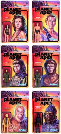 Planet of the Apes ReAction Figures Wave 1 - 下呂温泉 留之助商店 入荷新着情報
