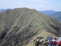 5月登山・剣山② - 猪こっと猛進