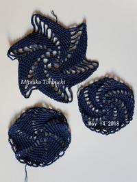 同時進行     progressing at the same time - 糸始末な日々         Thread&Yarn Handing Days