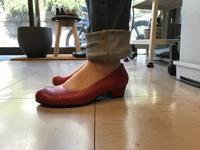 パンプス - 手づくり靴 仄仄工房(ホノボノコウボウ)