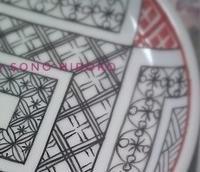 石畳模様☆ - Italian styleの磁器絵付け