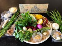 春の料理教室 「MARU FARM」さんの無農薬野菜を使って - Coucou a table!      クク アターブル!