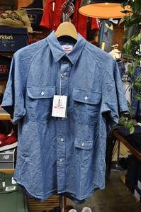 Battenwear(MADE in NewYork)Shambre S/S WORK SHIRTS!★! - selectorボスの独り言   もしもし?…0942-41-8617で細かに対応しますョ  (サイズ・在庫)