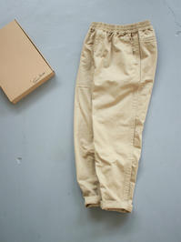 Sans limite  CHINO CLOTH GOM PANTS - 『Bumpkins putting on airs』