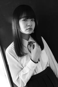 川本好華ちゃん10 - モノクロポートレート写真館