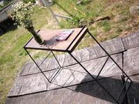 アイアンラック。 - 手作り薪ストーブ kintoku直火工房。