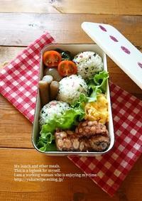 5.16 タコカラ弁当 - YUKA'sレシピ♪