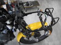 クロスカブのPRO仕様 - バイクの横輪