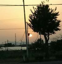 20180516 【自然】昇る太陽 - 杉本敏宏のつれづれなるままに