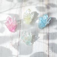 [お知らせ] 明日、minneさんにて新作の紫陽花のブローチ、ネックレス、クラゲのピアスを販売します♪ - Smiling * Photo & Handmade 2