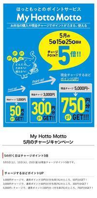 【5/5・15・25】ほっともっと現金チャージ 10000円【ポイント5倍】 - 続・食欲記