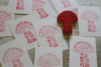展示会の準備をしています~カードの準備~ - フェルタート™・オフフープ™立体刺繍作家PieniSieniのブログ