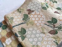 紫陽花の袋帯 - 終の棲家のひとりごと♪