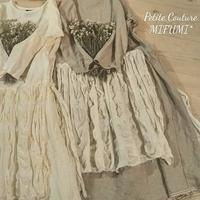 若葉いっぱいの季節リネンワンピースで - MIFUMI*  Petite Couture Rie