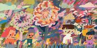 kritaで描いた絵色々 - シュールな絵画の抽象画の油絵奮闘記