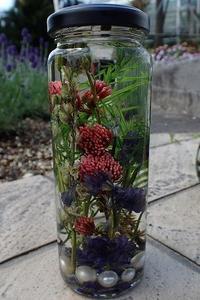 今流行りの「ハーバリウム」が作れる!ワークショップ開催♪ - 手柄山温室植物園ブログ 『山の上から花だより』