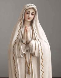 ファティマの聖母マリア像 高:35cm /F147 - Glicinia 古道具店