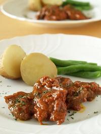 豚肉のトマト煮込み - シニョーラKAYOのイタリアンな生活
