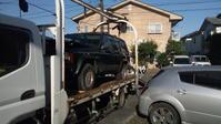 西東京市から遺産相続の不動車をレッカー車で廃車の出張引き取りしました。 - 廃車戦隊引き取りレンジャー