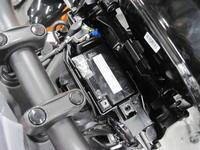 CB125Rの納車整備 - バイクの横輪