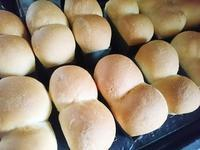 我が家の定番レシピ!【パン編】ミニパウンド型でミニミニ食パン♪ - がまぐち・和小物クリエイター 『リメイク』で大好きをもっと身近に♪ハンドメイドショップ『てしごと日月堂』店主のブログ