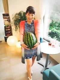 まもっちゃん農園 のすいか 紅まくら - 【熊本エステ/東京】あなたの綺麗をプロデュース♡サロン・スクール経営♡渡邊明美