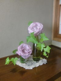 薔薇の季節、小品花で楽しむ - 活花生活(2)