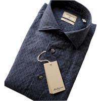 Matteucci マテウッチ コットンリネン織り柄シャンブレーシャツ GVEGAS - 下町の洋服店 krunchの日記